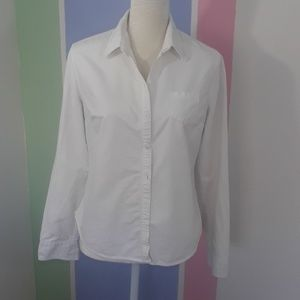 Mossimo Supply Co. white button down shirt